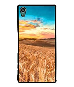 PrintVisa Designer Back Case Cover for Sony Xperia Z5 :: Sony Xperia Z5 Dual 23MP (Agriculture Bright Cereal Crop Cloud Scape Beautiful Colorful)
