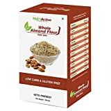 NutroActive Whole Almond Flour with Skin, Badam Powder (Vacuum Pack) 200 gm
