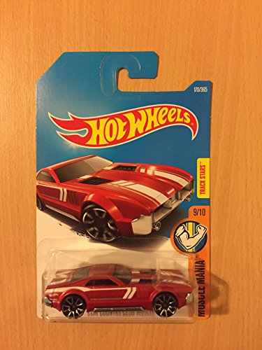 Track Stars Series  6 CCM Country Club Muscle Red PR-5 Wheels  2008-106 Collectible Collector Car 2008 Hot Wheels by Hot Wheels