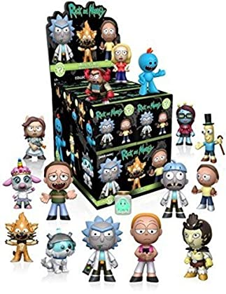 Funko - Figurine - Rick And Morty Mystery Minis...