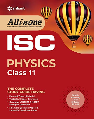All In One ISC Physics Class 11 2019-20