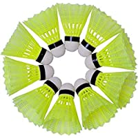 MOOLYAVAAN Products Plastic Badminton Nylon Shuttlecock(Green Color)