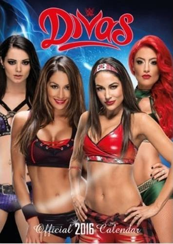 The Official World Wrestling Divas 2016 A3 Calendar