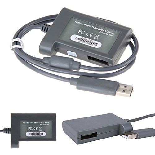 NAttnJf HD-Festplatte-Kabel für Xbox 360 HDD USB Anschluss -