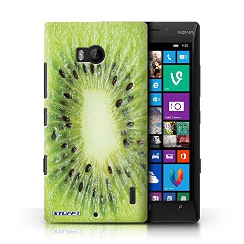 Kobalt® Imprimé Etui / Coque pour Nokia Lumia 930 / Fraise conception / Série Fruits Kiwi