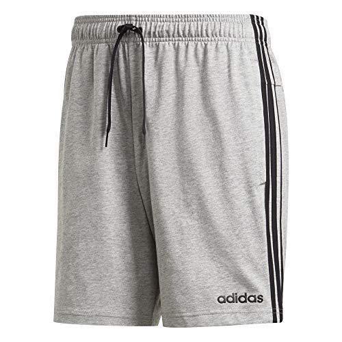 adidas Herren E 3S SHRT SJ Shorts, medium Grey Heather/Black, M - Adidas Bermuda Shorts