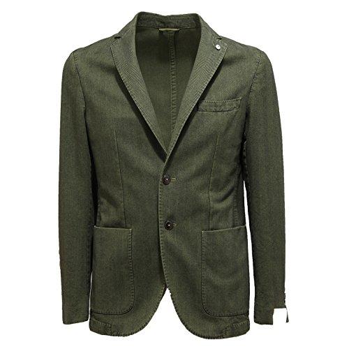 2946N giacca uomo L.B.M. 1911 verde jacket men [50/R]