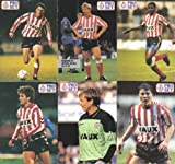"Pro Set ""1991-92"" Sunderland FC football trading cards x 6"