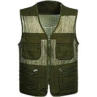 GDS/verano malla vest. gran pesca deportiva de hombre vests. Cool–Chaleco de pesca, 2-XXXXL