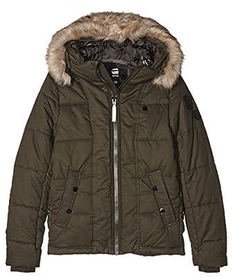 G-Star RAW Men's Whistler Hdd Fur Jkt Jacket, Green by G-STAR GmbH