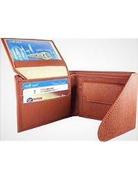 Handmade Top Grain Leather Bi Fold Wallet For Men (Triple Fold)