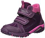 Superfit Mädchen SPORT4 Hohe Sneaker, Violett (Eggplant Kombi), 37 EU