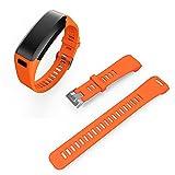 Cewaal Band di ricambio Con l'attrezzo Braccialetto in cinturino del braccialetto in silicone Per Garmin Vivosmart HR