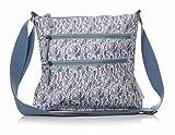 Shruti Designs Blue Prairie Olicloth Sling Bag by Sophie Richford