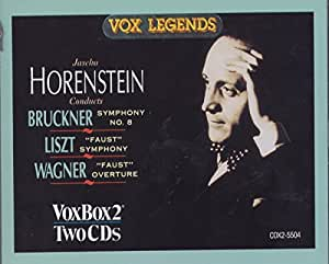 Conducts Bruckner and Liszt [IMPORT]