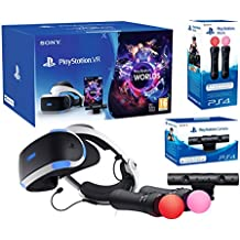 "Playstation VR ""Starter Plus Pack"" + VR Worlds + Kamera V2 + Twin Move Kontrollers"