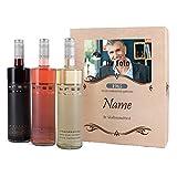 private Wine Wein-Set zum Geburtstag mit Premium Geschenkbox mit Foto und Wunschtext