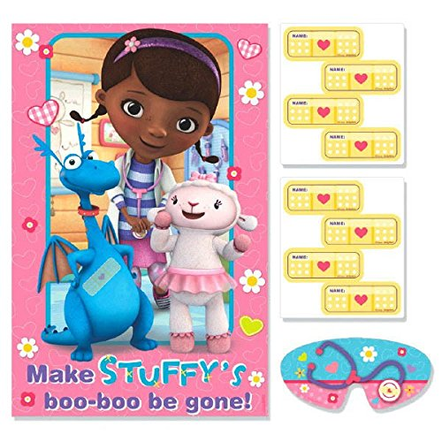 Doc McStuffins Party Spiel, Pin The Pflaster bei Stuffy, - Doc Mcstuffins Dress Up Kostüm