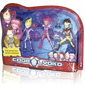 Código Lyoko. Pack 3 chiffres