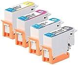 iColor Tintenpatronen: Tinten-Patronen ColorPack 202XL für Epson-Drucker, BK, PBK, C, M, Y (Multipacks Kompatible Druckerpatronen für Tintenstrahldrucker, Epson)