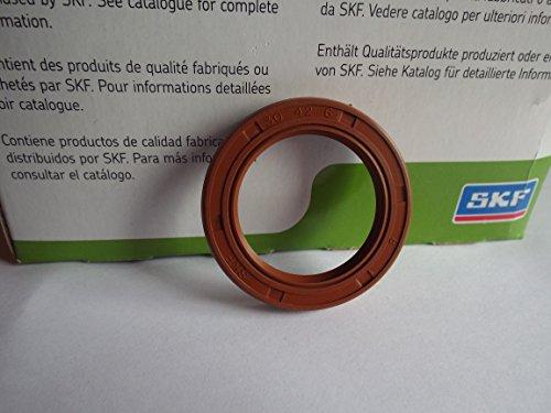 30x 42x 6SKF Viton Doppel Lip Oil Seal R23/TC Viton Gummi Edelstahl Strumpfband Spring