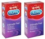 24 Durex Intimate Feel (Elite) Condom...