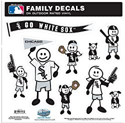 MLB Chicago White Sox Large Family Decal Set
