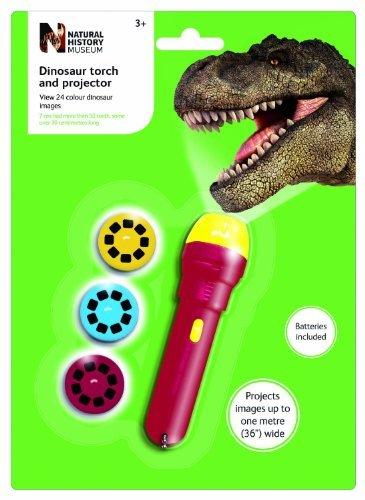 El Museo de Historia Natural dinosaurios linterna y proyector (1)