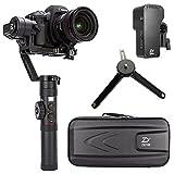 Zhiyun Crane 2 Handheld Gimbal Estabilizador con pantalla OLED y control de enfoque de seguimiento para cámaras réflex digitales y cámaras sin espejo de hasta 7LB,Canon 5D2,5D3,5D4,GH3,GH4,Nikon D