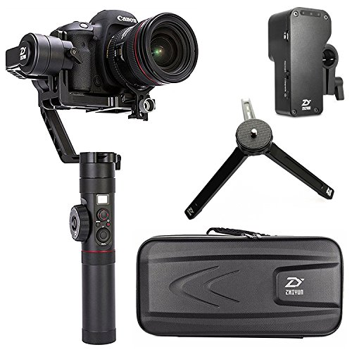 Foto Zhiyun Crane 2 (con follow focus) 3-axis Handheld Gimbal stabilizzatore...