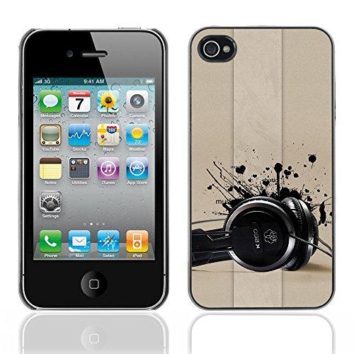 Graphic4You Leaves Falling From Tree Autumn Theme Design Harte Hülle Case Tasche Schutzhülle für Apple iPhone 4 und 4S Design #9