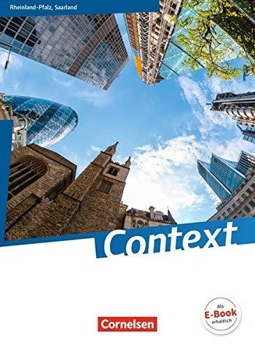 Context - Rheinland-Pfalz/ Saarland: Schülerbuch: Kartoniert