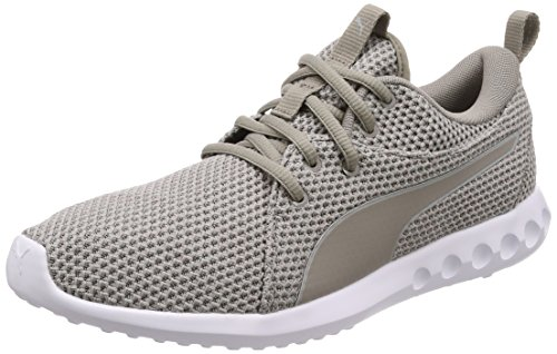 Puma Carson 2 Nature Knit, Zapatillas de Cross Hombre, Gris (Rock...