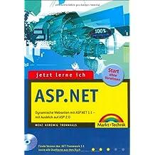 Jetzt lerne ich ASP.NET