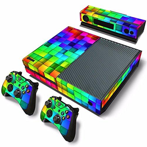 style-treillis-skin-en-vinyle-pour-console-xbox-one-sans