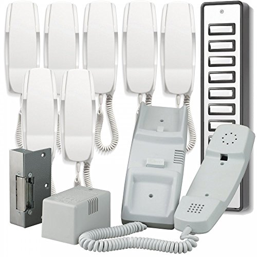 Bell System 900 Series 8 Way Audio Door Entry System inc Lock Release 908