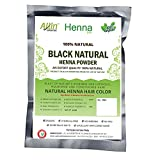 Black Henna Hair Color – 100% Organic and Chemical Free Henna for Hair Color Hair Care - ( 240 Gram = 4 Packet)