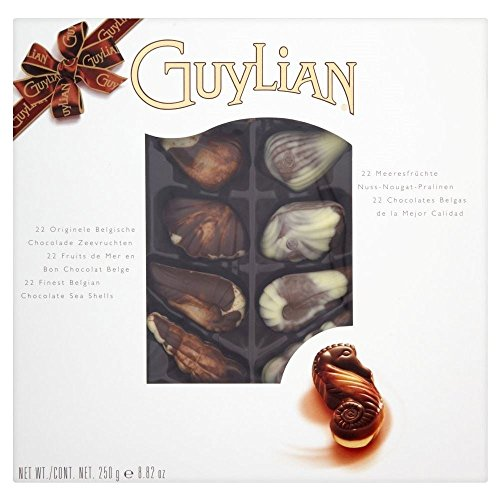 coquillages-guylian-belgian-chocolate-250g-paquet-de-6