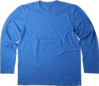 Hanes Mens Long Sleeve T-Shirt Sun Flower Yellow-S