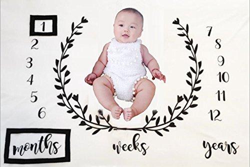 nouveau-né bébé Nid d'ange mensuel Milestone Shoots Photographie Toile de fond, Winmany bébé anniversaire Photographie Photo Props mensuel minimum couvertures créer personnalisé Photographie