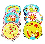 Ularma Jingle Percussion Hand Bell Tambourine Musical Instrument Toy
