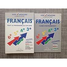 Français / tout le programme du college