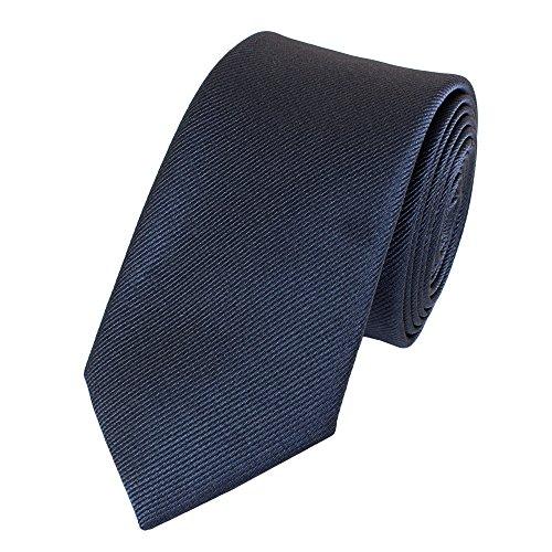 Moderne Fabio Farini Krawatte 6 cm in verschiedenen Farben, Blau