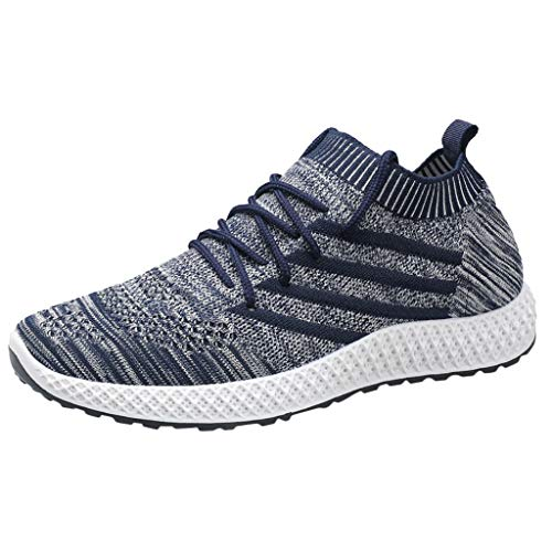 GUCIStyle Zapatillas Hombres Cuchilla guerrera Deporte Running Zapatos Correr Gimnasio Sneakers Deportivas Moda de Malla Zapatos Transpirables Casual Tamaño Grande Sneakers