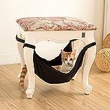owikar Katze Hängematte Bett Pet Kitty Aufhängen Etagenbett Sleepy Stuhl Bett Double Seite Soft Warm und bequem Pet Transportkäfig Krippe für Verwendung mit Stuhl für Kätzchen Frettchen Welpen oder Kleine Haustiere