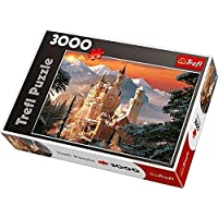 """Trefl 33025 """"Wintry Neuschwanstein Castle/Germany Puzzle (3000-Piece)"""