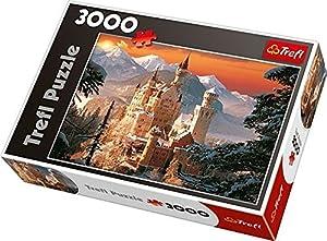 TREFL 33025 - Puzle (3000 Piezas), diseño del Castillo Neuschwanstein de Baviera