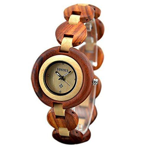 montre-en-bois-bewell-femme-pese-personne-hypoallergenique-montre-en-bois-naturel-red-sandal-wood-wi