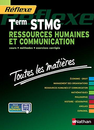 Toutes les matires Term STMG Ressources humaines et communication