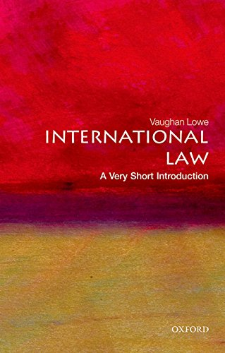 International Law: A Very Short Introduction (Very Short Introductions) por Vaughan Lowe